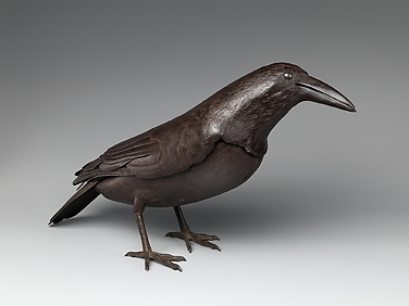 Okimono in the Form of a Raven