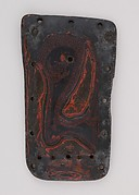 Element from a Lacquered Leather Cuirass