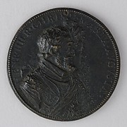 Medal Showing Henry IV of France and Marie de Médicis