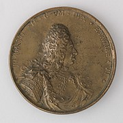Medal Showing Giovanni Gastone, VII Duke of Tuscany