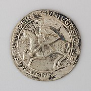 Reproduction of the Seal of Grüneberg Stadt, 1250