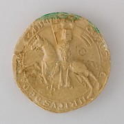 Reproduction of the Seal of Heinrich Graf von Orlamünde, 1327