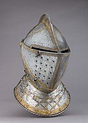 Close Helmet from a Garniture Made for a Member of the d'Avalos Family