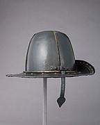 Helmet in the Shape of a Cavalier's Hat