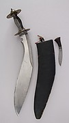 Knife (Kukri) with Sheath, Small Knife and Pouch