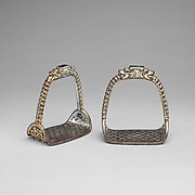 Stirrups, pair (yob chen)