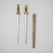 Double Sword with Scabbard