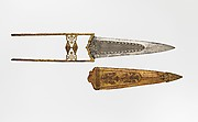 Dagger and scabbard
