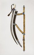 Sword (Shamshir) with Scabbard and Belt