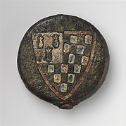 Sword Pommel with the Arms of Pierre de Dreux (ca. 1190–1250), Duke of Brittany and Earl of Richmond