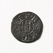 Coin (Denier) of Henry I of Cyprus (1218–1253)