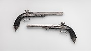 Pair of Percussion Target Pistols Made for Display at the 1844 Exposition des Produits de l'Industrie in Paris