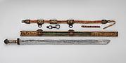 Sword, Scabbard, and Belt Hook