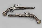 Pair of Flintlock Pistols Made for Ferdinand IV, King of Naples and Sicily (1751–1825)