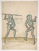 Drawings Showing Combat on Foot (Champ Clos)