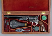 Cased Colt Model 1860 Army Percussion Revolver, Serial no. 7569, with Accessories