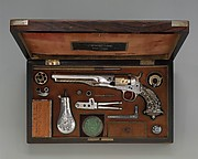 Cased Colt Model 1862 Police Revolver, serial no. 9174, with Thuer Conversion for Self-contained Cartridges, and Accessories