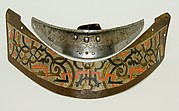 Crinet Plate Belonging to an Armor for Field and Tournament Made for Duke Nikolaus