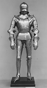 Complete suit of Gothic armor