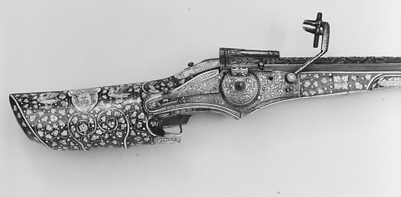 Wheellock Hunting Gun