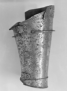 Lower Left Vambrace (Forearm Defense)