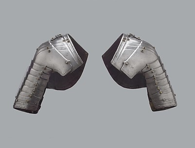 Pair of Tournament Pauldrons (Shoulder Defenses)