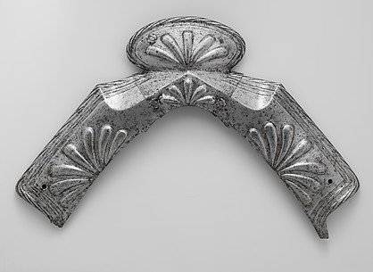 Three Pommel Plates of a Saddle