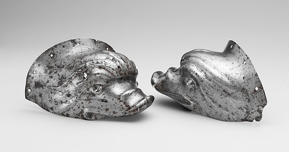 Pair of Ear Guards from a Shaffron