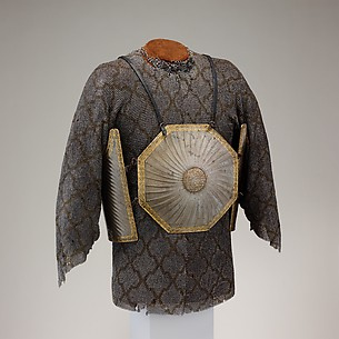 Cuirass (Char Aina) with Mail Shirt