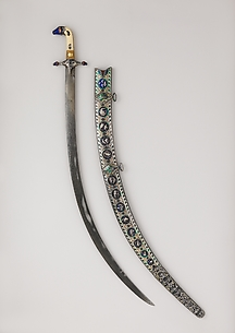 Sword (Shamshir) with Scabbard