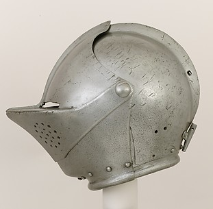 Close-Helmet for the Tournament on Foot