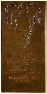 Bashford Dean Memorial Tablet, 1929–30
