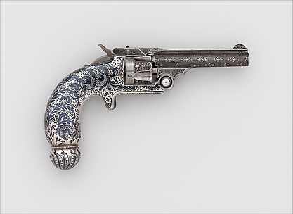 Smith and Wesson .32 Single-Action Revolver, Serial no. 94421