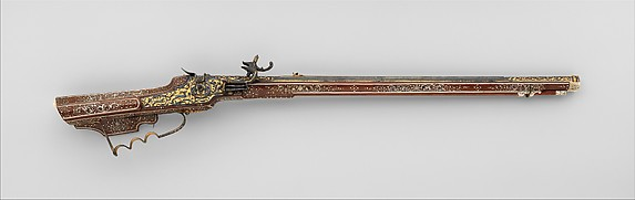 Wheellock rifle