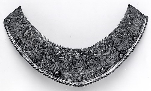 Collar Plate for a Helmet of Henry III of France
