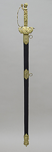 Presentation Sword and Scabbard of Peleg K. Dunham (1794–1822)