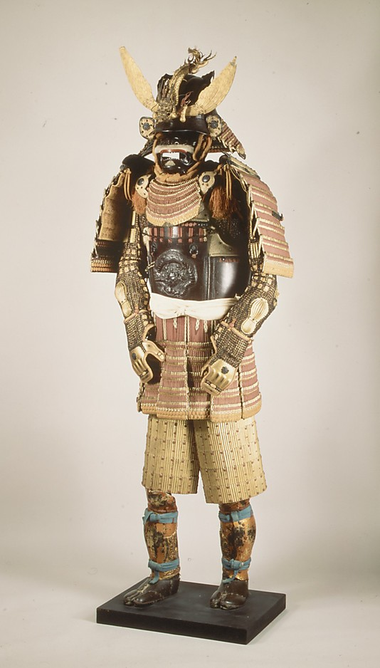 Armor (Gusoku) with Foot Guards