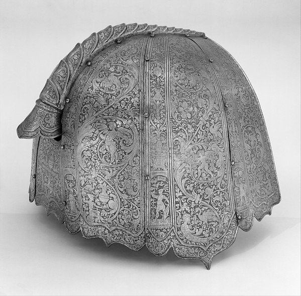 Horse Armor Probably Made for Count  Antonio IV Callalto (1548–1620)