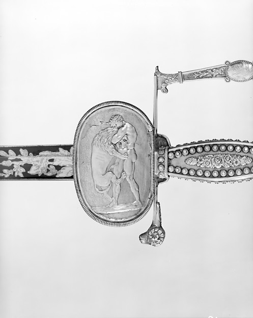 Presentation Sword and Scabbard of Brigadier General Daniel Davis (1777–1814) of the New York Militia