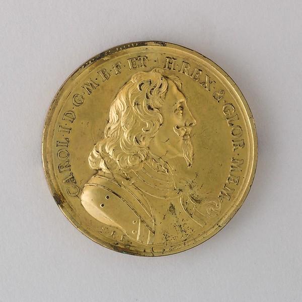 Memorial Medal for Charles I, 1649