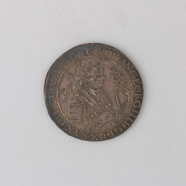 Coin (Crown) Showing John George III, Duke of Saxony