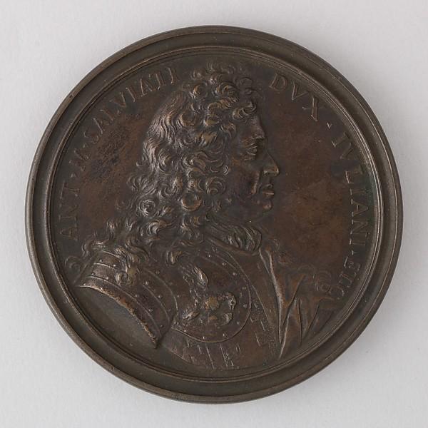 Medal Showing Antonio Maria Salviati, Duke of Juliano