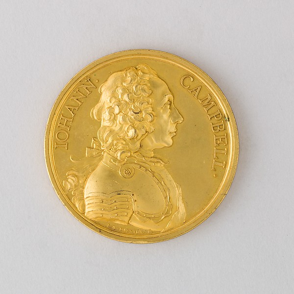 Medal Showing John Campbell, Second Duke of Argyle