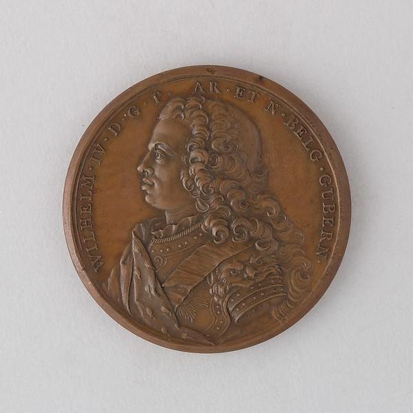 Medal Showing William IV, Prince of Orange