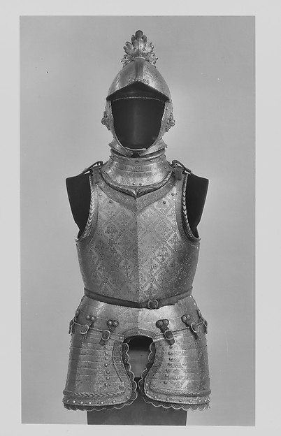 Armor of Giovanni Battista Bourbon del Monte (15411614)