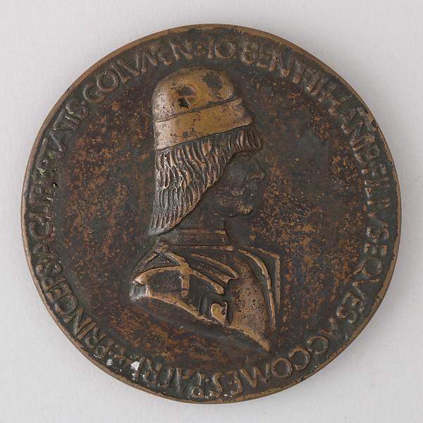 Sperandio Medal Showing Giovanni Bentivoglio II