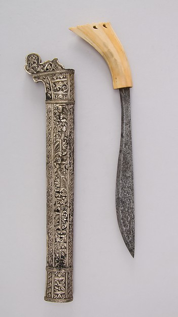 Dagger (Golok or Pedang) with Sheath