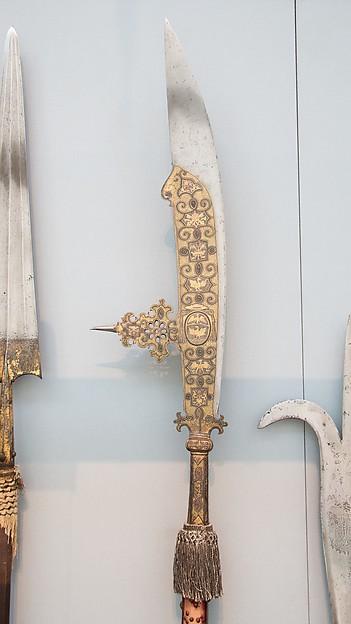 Fauchard of the Bodyguard of Cardinal Scipione Borghese-Caffarelli (1576–1633)