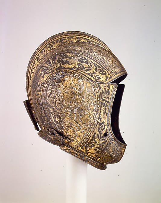 Close-Helmet of Vicenzo I Gonzaga