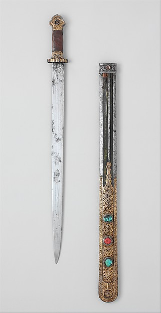 Short Sword and Scabbard